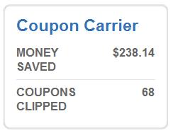 Coupon Carrier