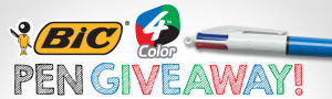 Bic 4 Color Giveaway